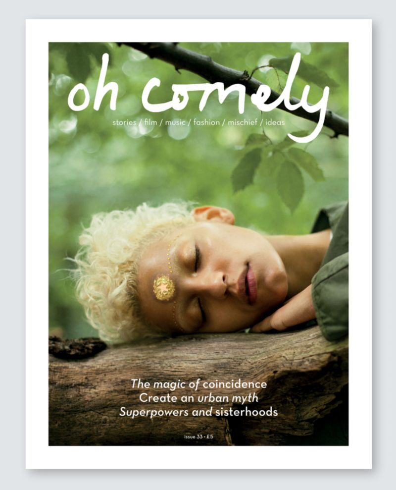 Oh Comely magazine redesign