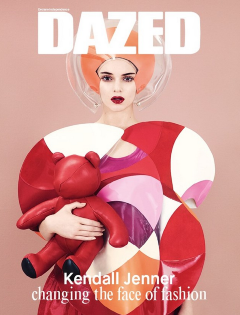Dazed Winter 2014: Kendall Jenner