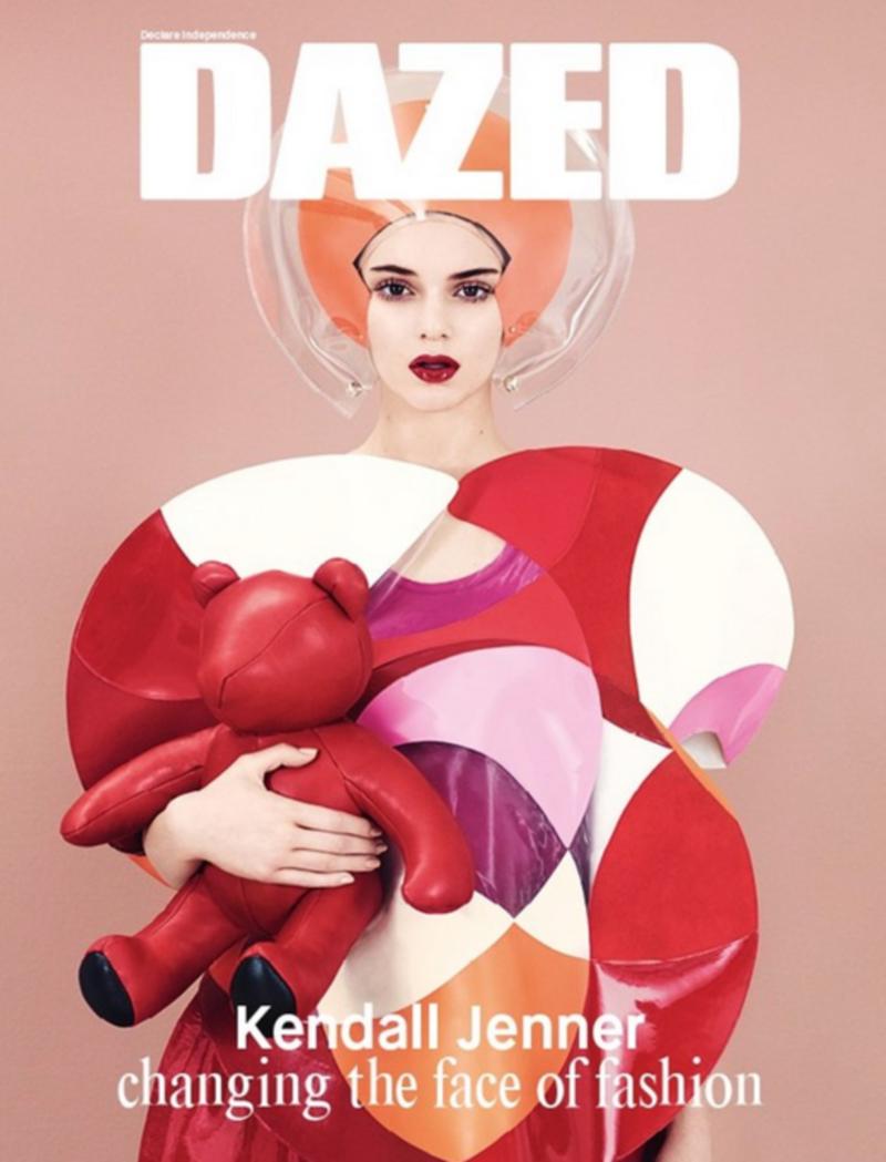 Dazed Winter 2014: Kendall Jenner