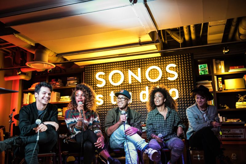Sonos - The Listen Make Play Project