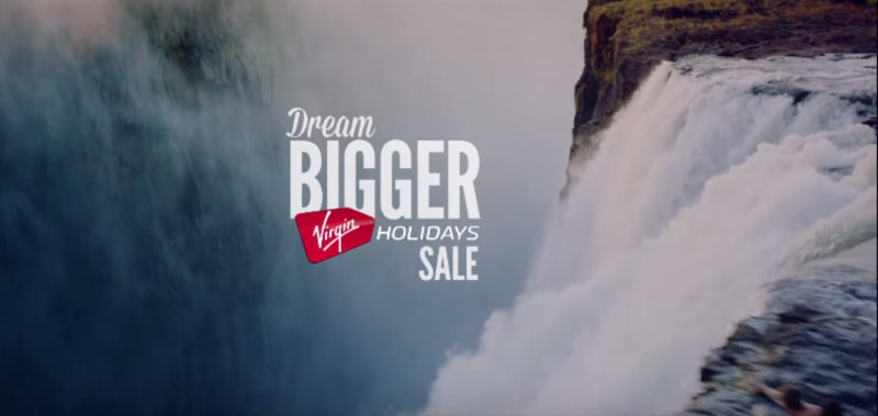 Virgin Holidays: Dream Bigger
