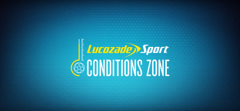 The Lucozade Sport Conditions Zone