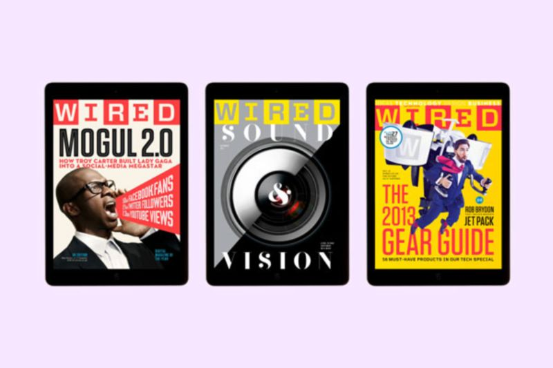 Wired, iPad edition