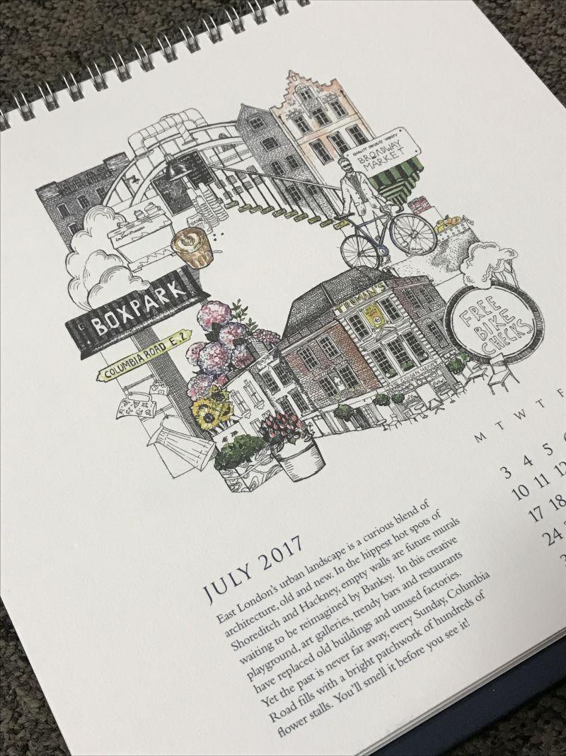 The Ritz Calendar 2017