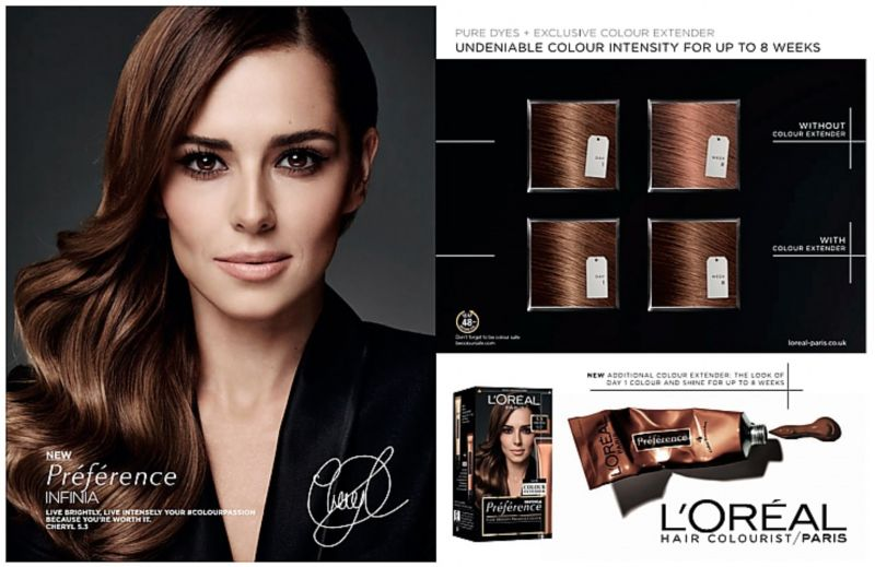Cheryl Cole for L'oreal Preference