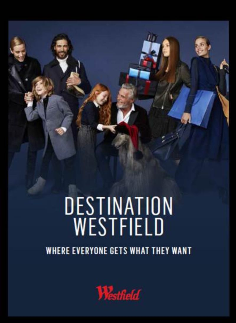 Christmas 2016 Campaign: Westfield