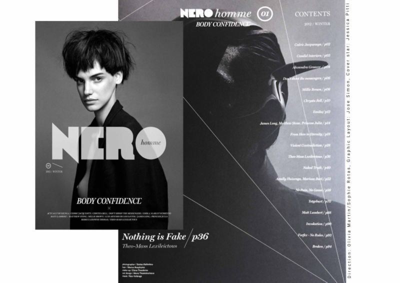 Nero Homme Issue 1-2