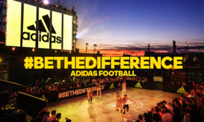 adidas #BeTheDifference