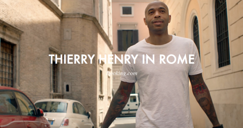 Thierry Henry in Rome