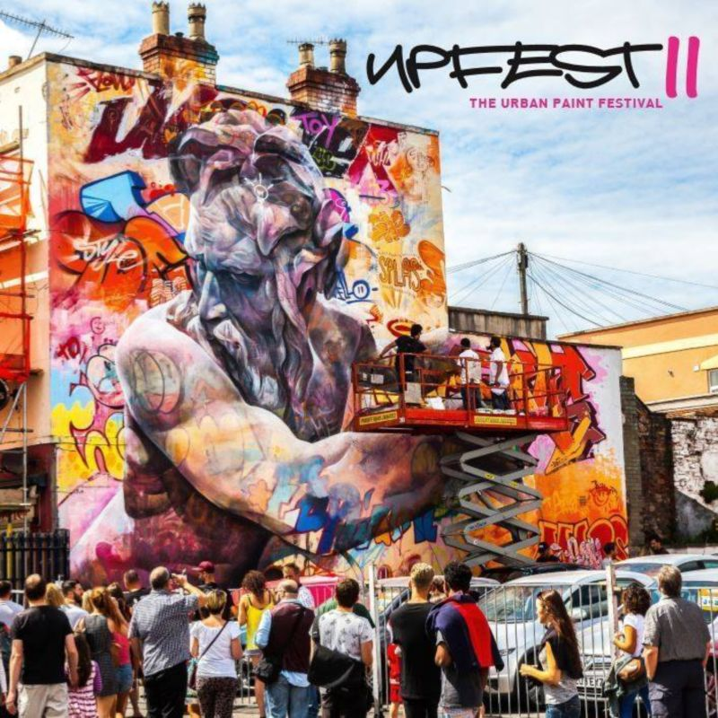 Upfest / Snapchat co-curation