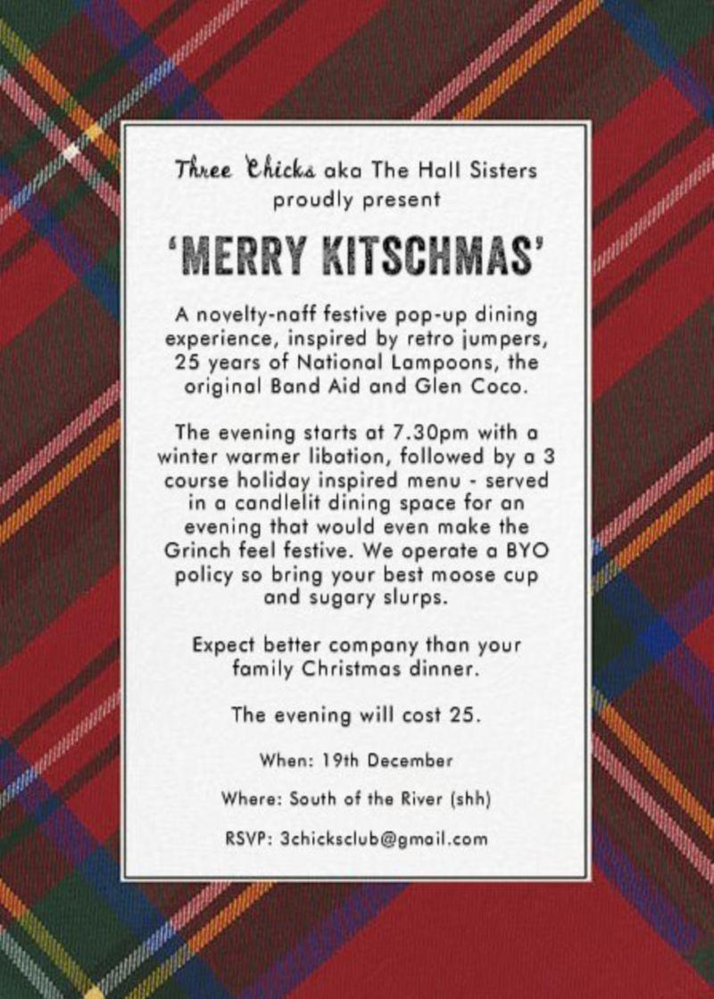 3C Presents 'Merry Kitchmas'