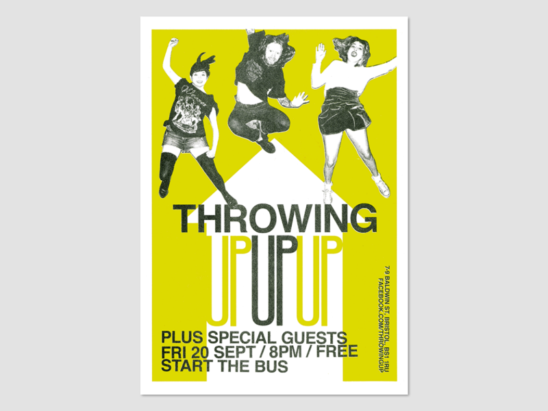 Throwing Up Poster