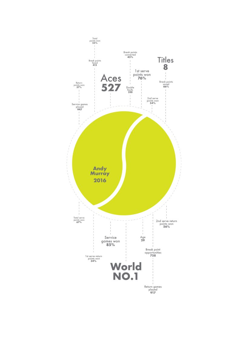 Andy Murray Infographic