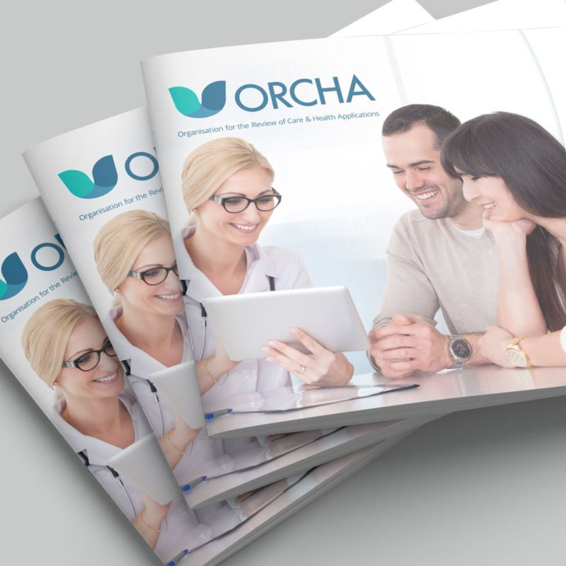ORCHA Brand Identity & Brochure
