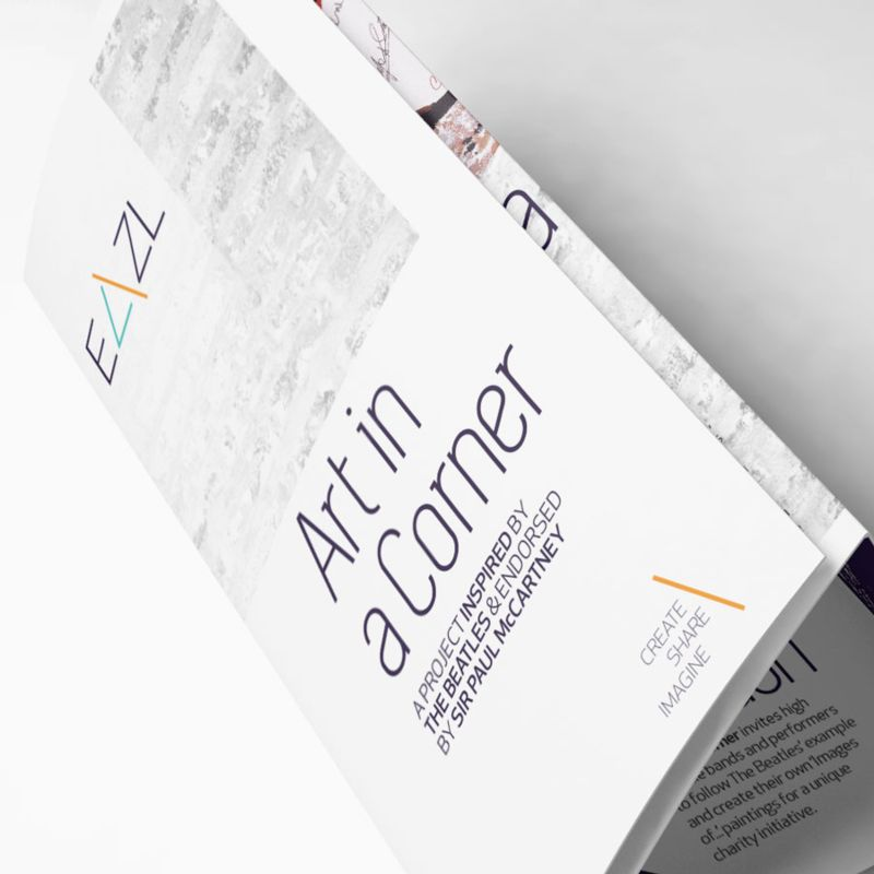 EAZL Brand Identity and Brochure Design