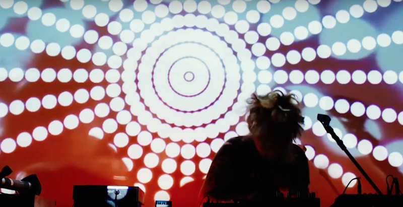 VJ performance in collaboration with AJA. Live @ Backlit Gallery