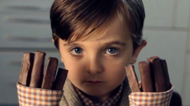 Cadburys- The Boy with Chocolate Fingers
