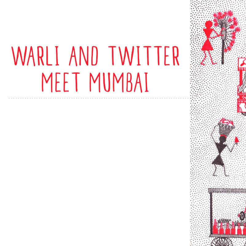 Warli and Twitter meet Mumbai