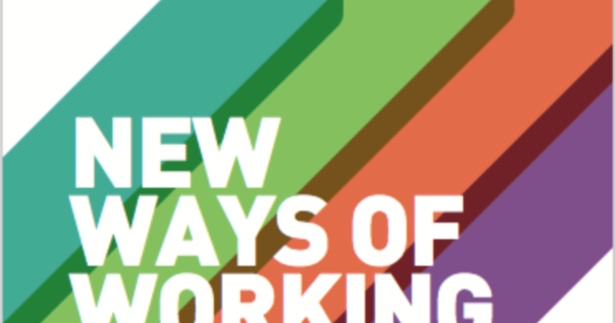 new ways of working report the dots