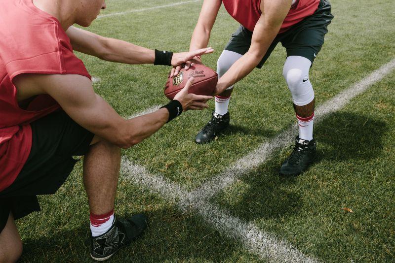 ON + OFF field training - NFL
