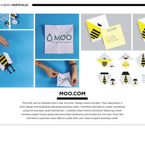 moo design works wonders the dots