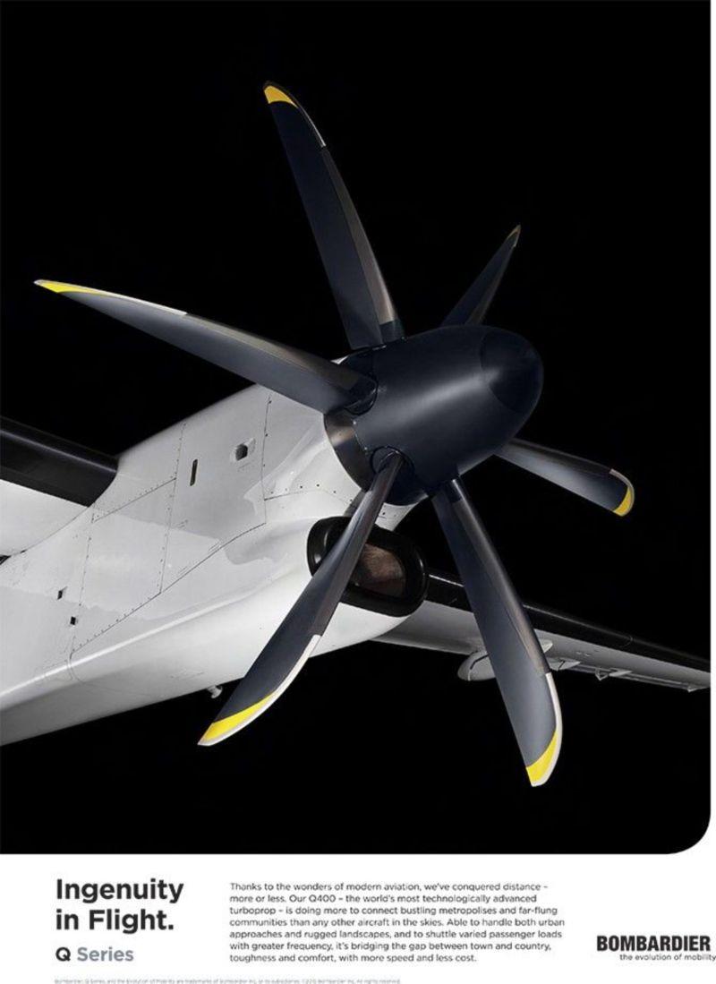 Debuting a new aircraft