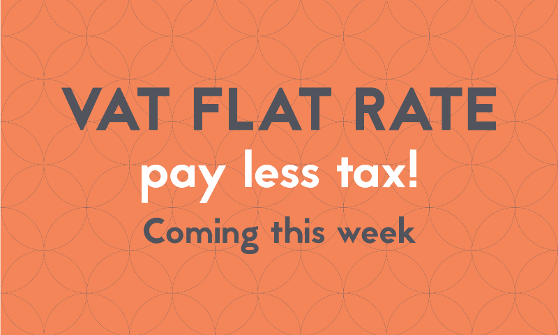 VAT Flat Rate: Pay Less Tax