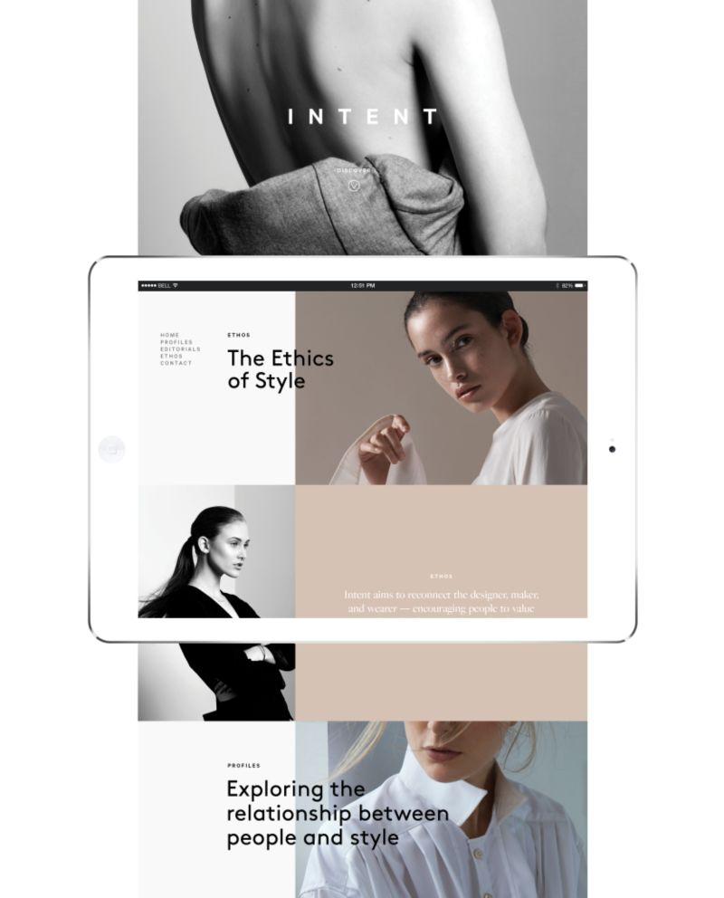 Intent Journal Website