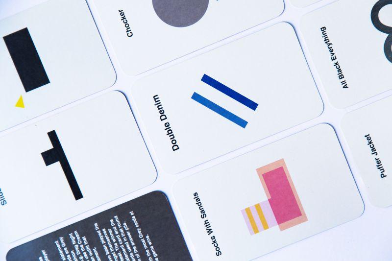 Fashion Victim Card Game