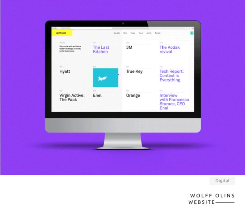 Wolff Olins Website