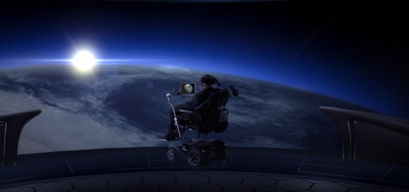 A Message from Professor Stephen Hawking: Global Goals