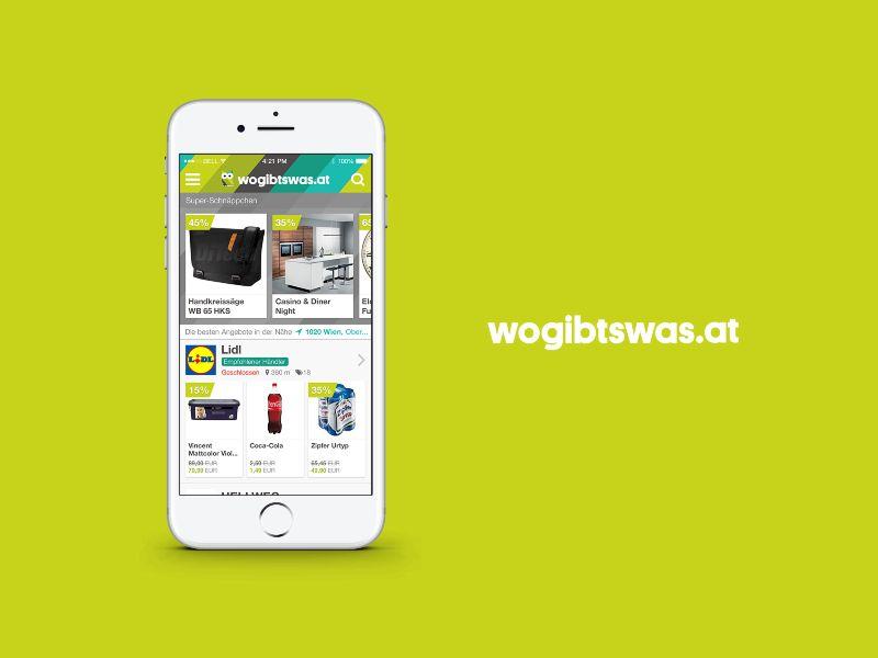 Wogibtswas mobile app