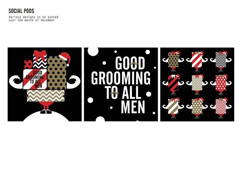 Ted's Grooming Room Christmas Creative