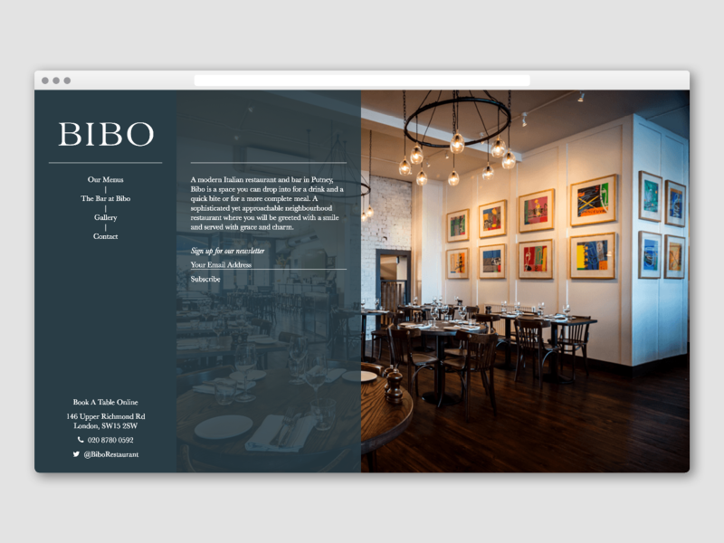 Bibo Website