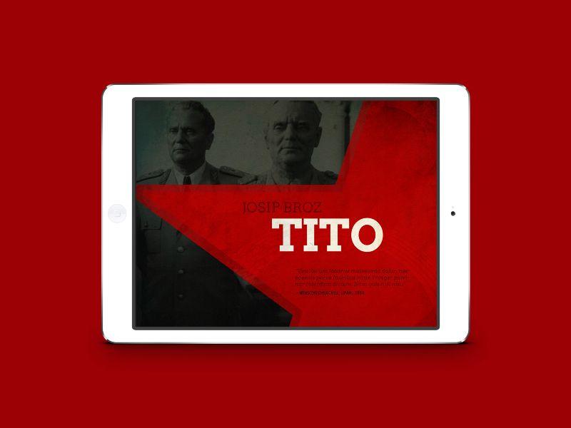 Biography iPad app