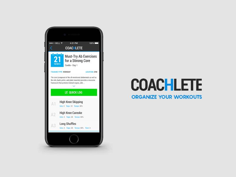 Coachlete workout app