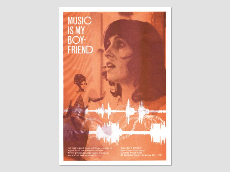 Music Is My Boyfriend Poster