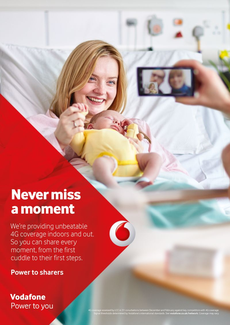 Paul O'Connor for Vodafone / Grey London