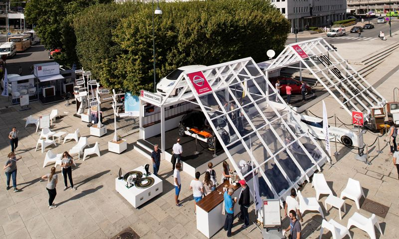 Nissan Pop Up Café