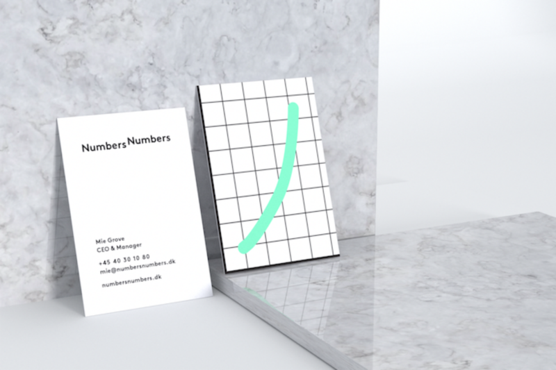 Corporate Identity for NumbersNumbers