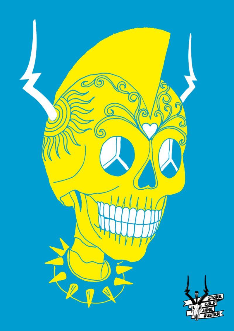 Stone Cold Jane Austin - Poster illustration