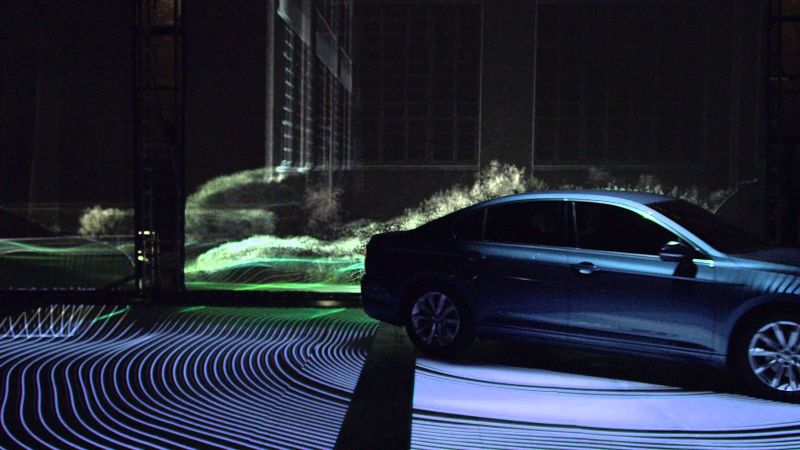 Volkswagen Passat. Making the Invisibile, Visible