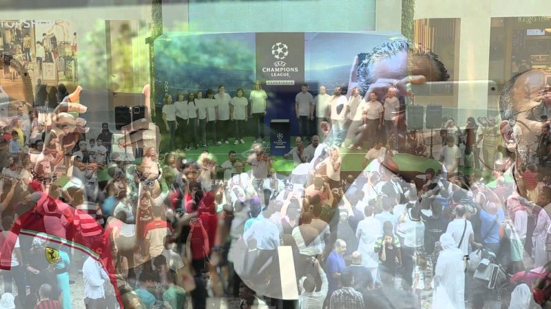 UEFA Champions League Orchestra Pop-Up