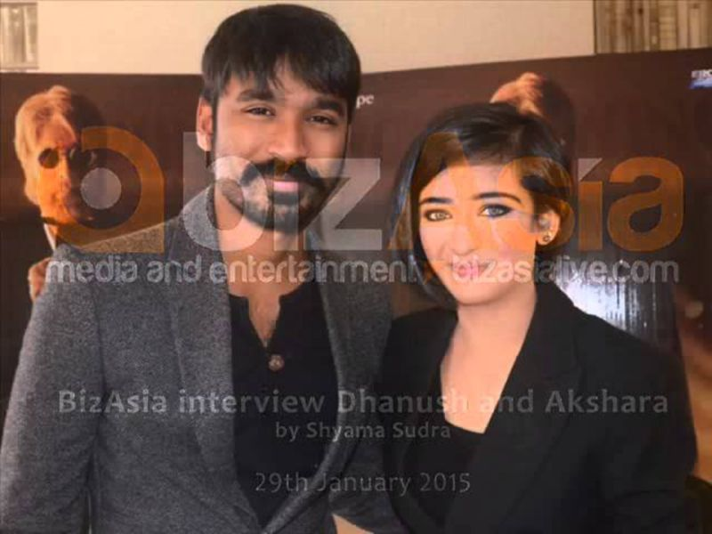 Interview with AKshara Hassan and Dhanush