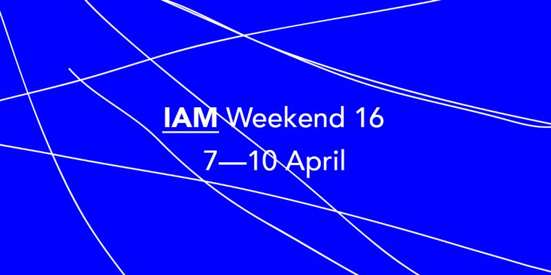 IAM Weekend 16: From Complexity to Emergence