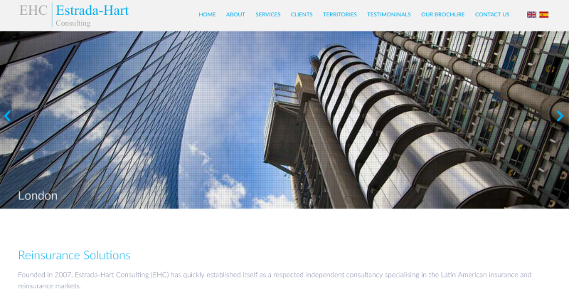 Estrada-Hart Consulting brochure website