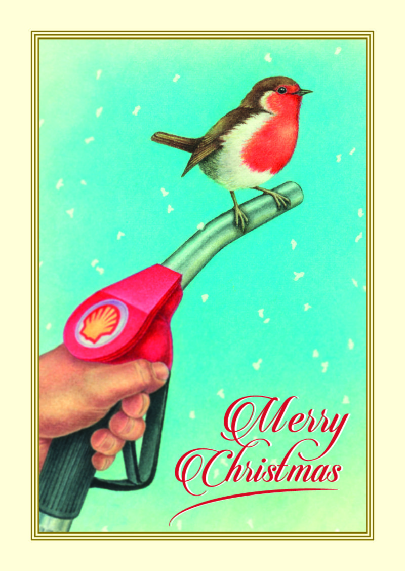 Shell Christmas Cards