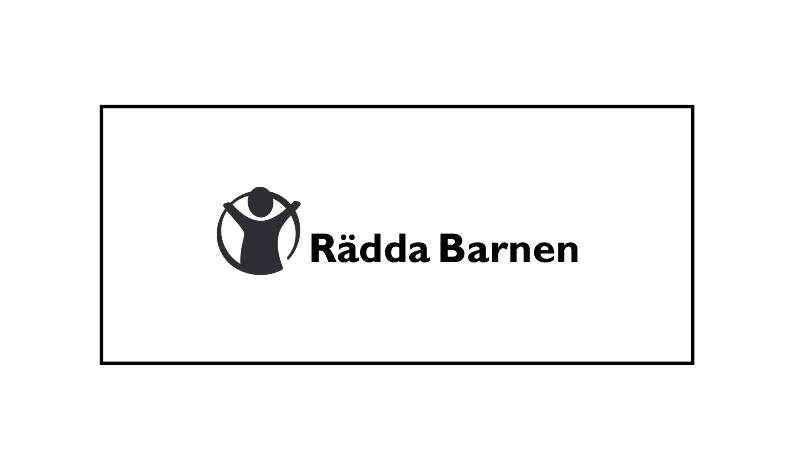 - RÄDDA BARNEN -