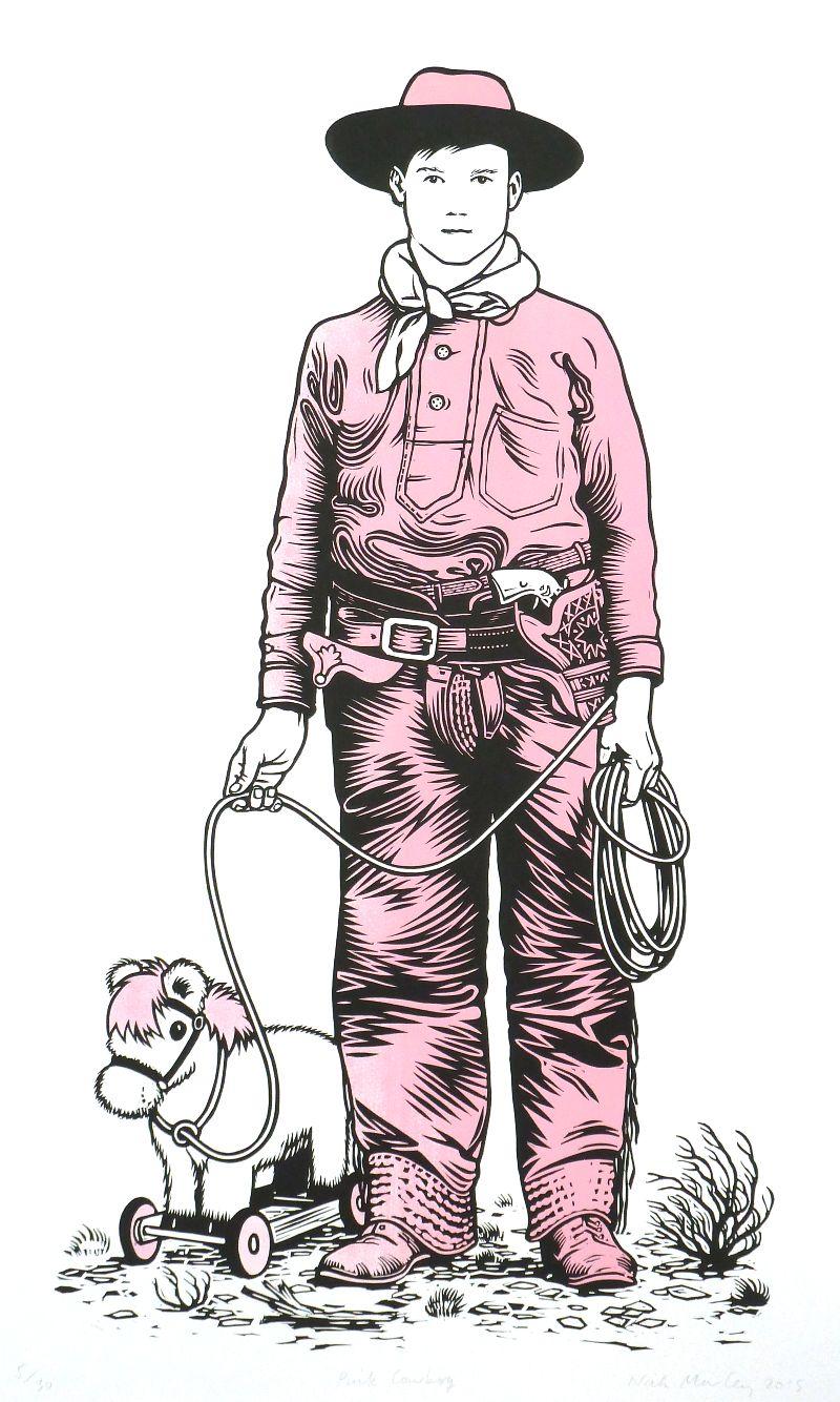 Personal Work: Pink Cowboy