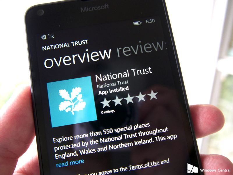 National Trust - Mobile app